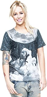 Loomiloo - Camiseta - para mujer multicolor Bedruckt