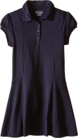 Girls Plus Polo Dress (Big Kids)