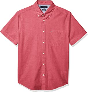 Men's Short Sleeve Button Down Shirt in Custom Fit