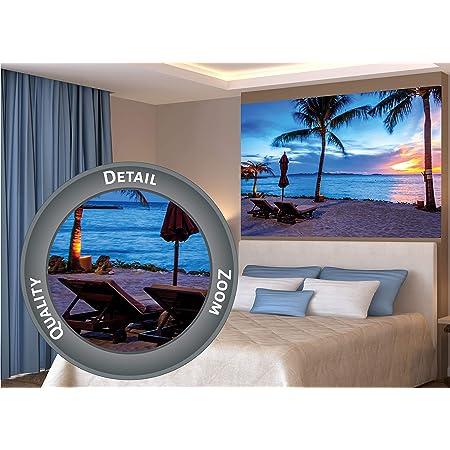 Vintage Decoration Design Poster.Tropical Island Love.House Room Art Decor.450