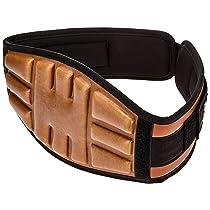 [Size XL] Amazon Brand – Symactive Embossed Weightlifting Gym Belt