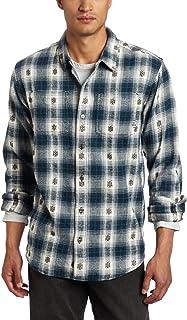 قميص رجالي منسوج بأكمام طويلة من برانا Hickory