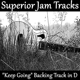 Keep Going Guitar Backing Track in D Acoustic Ballad