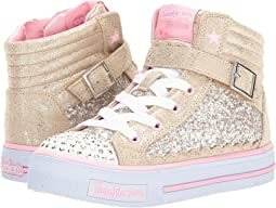 SKECHERS KIDS - Shuffles - Glitter Girly 10923L Lights (Little Kid/Big Kid)