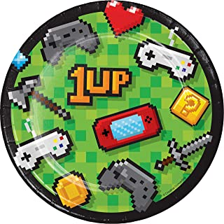 Video Game Party Dessert Plates, 24 ct