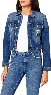 جاكيت دنيم للسيدات من Calvin Klein مقصوص من قماش الدنيم (عبوة من 2)