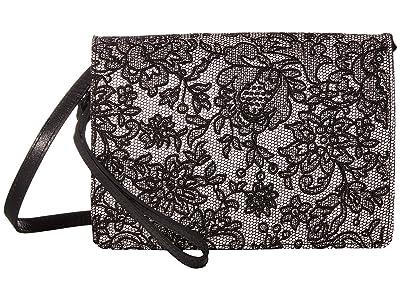 Patricia Nash Lanza Crossbody w/ Long Flap (White) Handbags