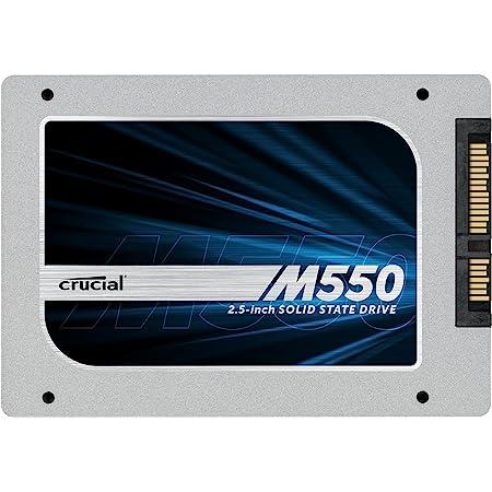 Crucial Micron純正 M550 2.5インチ 内蔵SSD ( 256GB / SATA 6Gbps / 7mm / 9.5mmアダプタ付属 ) 国内正規品 CT256M550SSD1
