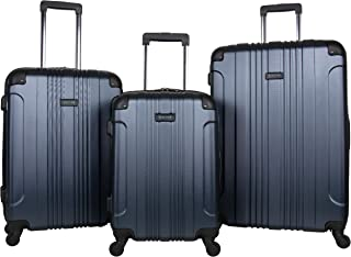 REACTION KENNETH COLE Out Of Bounds Luggage Collection Lightweight Durable Hardside 4-Wheel Spinner Travel Suitcase Bags, ...