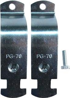 南電機 パイプハンガーサドル PG-70 電気亜鉛メッキ仕上げ (10個/箱)