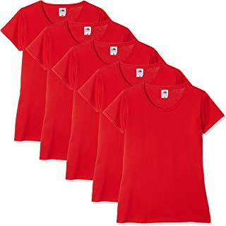 9cc1cfc8f1e9 Amazon.co.uk: Red - Tops, T-Shirts & Blouses / Women: Clothing