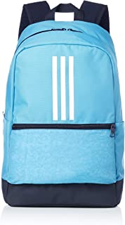 Adidas CLAS BP 3S Backpack for Unisex - Shock Cyan/Legend Ink/White  NS  DT2627