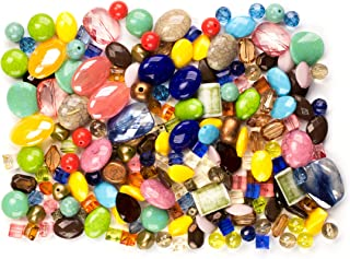 190+pc Acrylic Bead Mix- Multi Color
