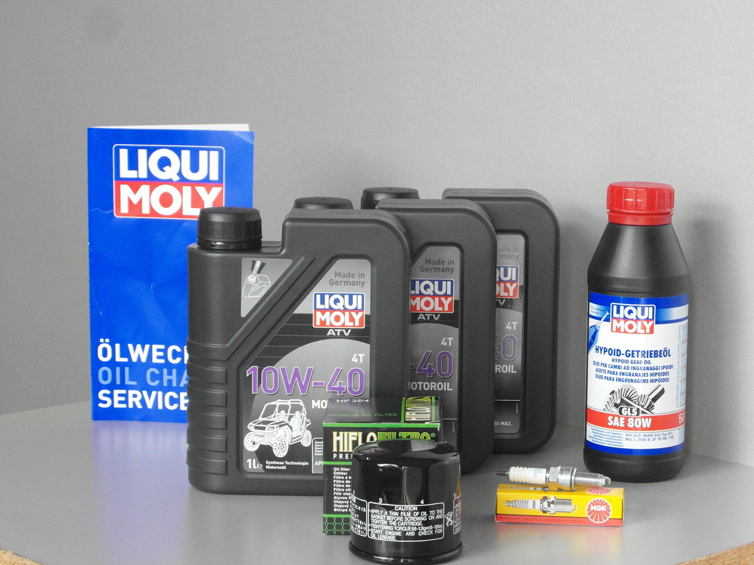 Mantenimiento y Service Set para quad Yamaha YFM 700 Grizzly aceite filtro zündk: Amazon.es: Coche y moto