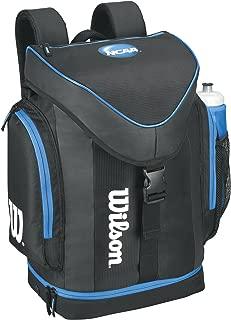 Wilson NCAA Backpack, Black/Blue, One Size