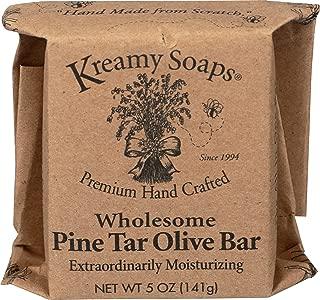 Naturally Medicinal Pine Tar Olive Bar