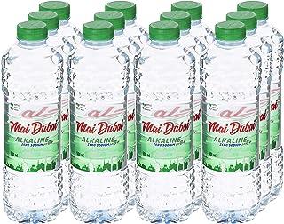 Mai Dubai Bottled Water Alkaline Zero Sodium, 12 x 500 ml