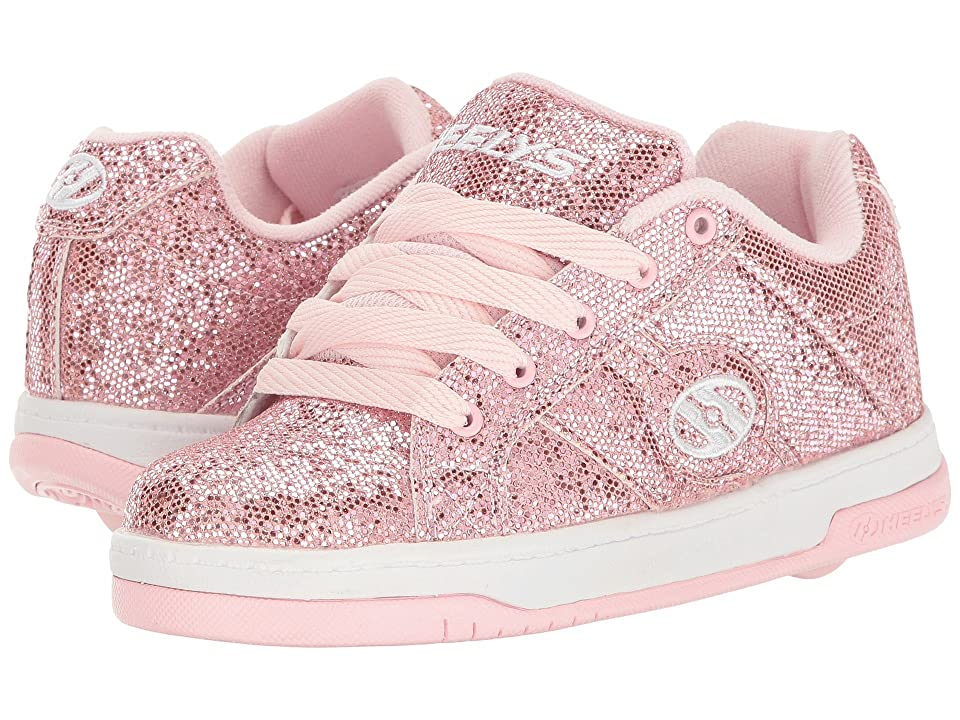 Heelys Split (Little Kid/Big Kid/Adult) (Light Pink Disco Glitter) Kids Shoes