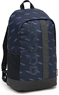 adidas Mens Linear Graphics M Backpack, Legend Ink/Black/Legend Ink