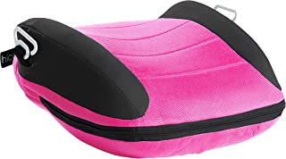 hiccapop UberBoost Inflatable Booster Car Seat | Blow up Narrow Backless Booster Car Seat for Travel | Portable Booster Se...