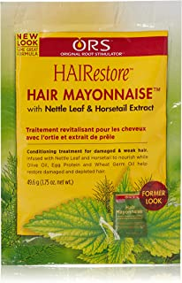Organic Root Stimulator Hair Mayonnaise Intensive Conditioning Treatment 1.75 oz (Pack of 2)