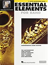 Hal Leonard Essential Elements 2000 Alto Saxophone Book 1 with CD-ROM