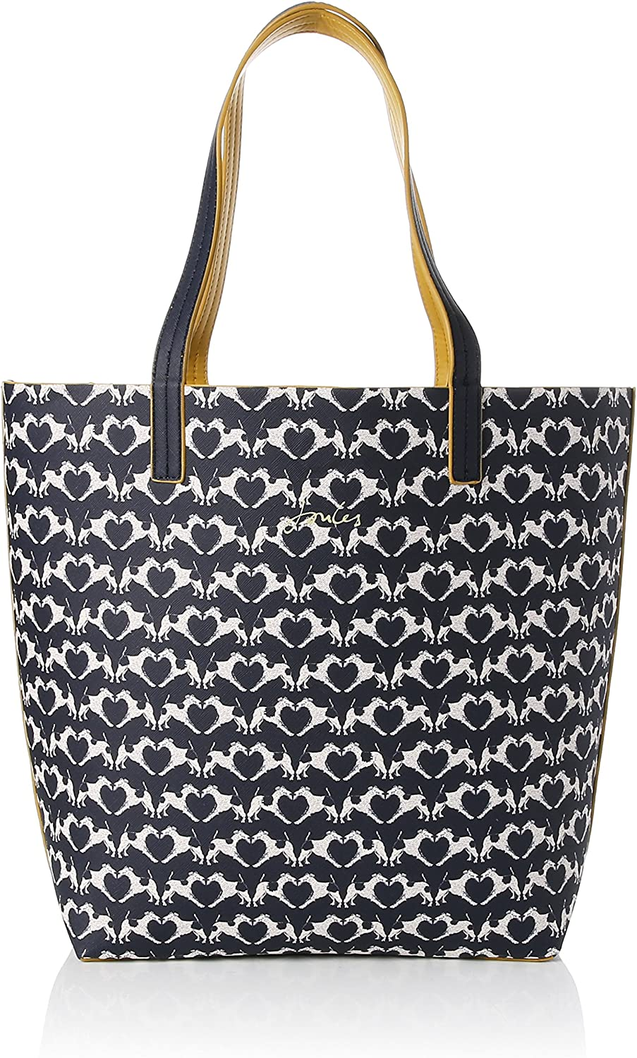 Joules Reveryprint Reversible Printed (Y) Navy Fox Terrier Geo One Size