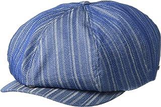 قبعة Brixton للرجال مطبوع عليها Brood Newsboy قابلة للتعديل