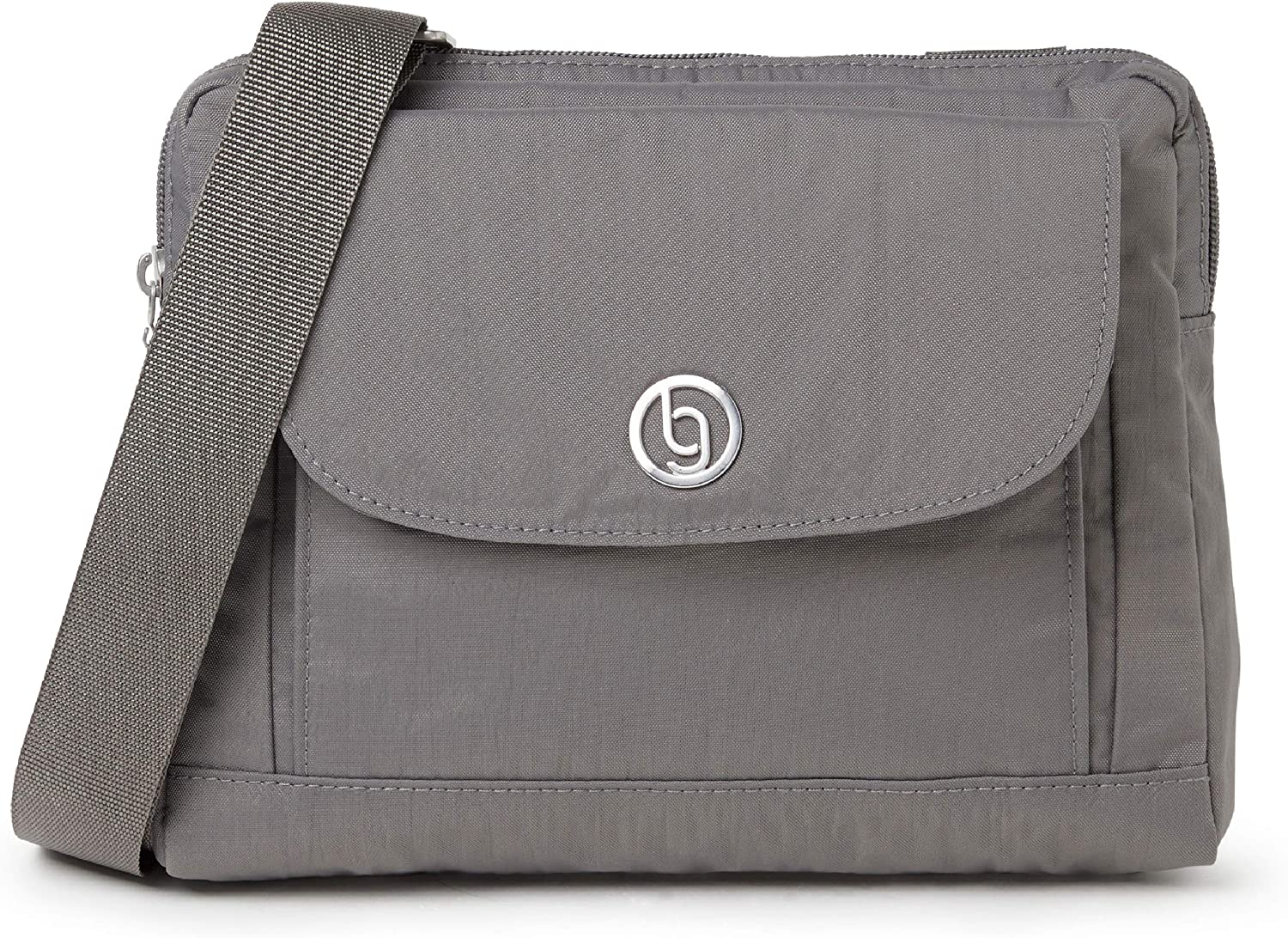 Baggallini Chicago Crossbody Bag – Lightweight, Water-Resistant, Adjustable Strap and RFID