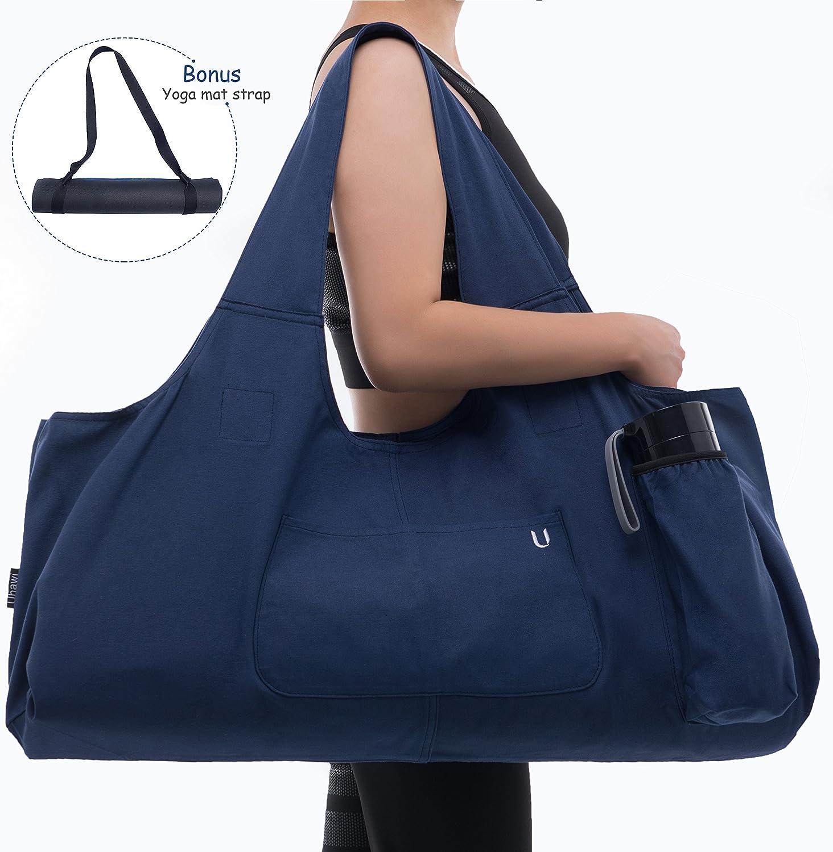 Uhawi Yoga Mat Bag Large Tote Pock Carrier Sling Free shipping Regular store with 4