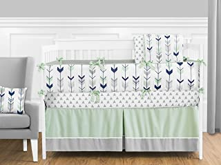 Best mint and navy baby bedding Reviews