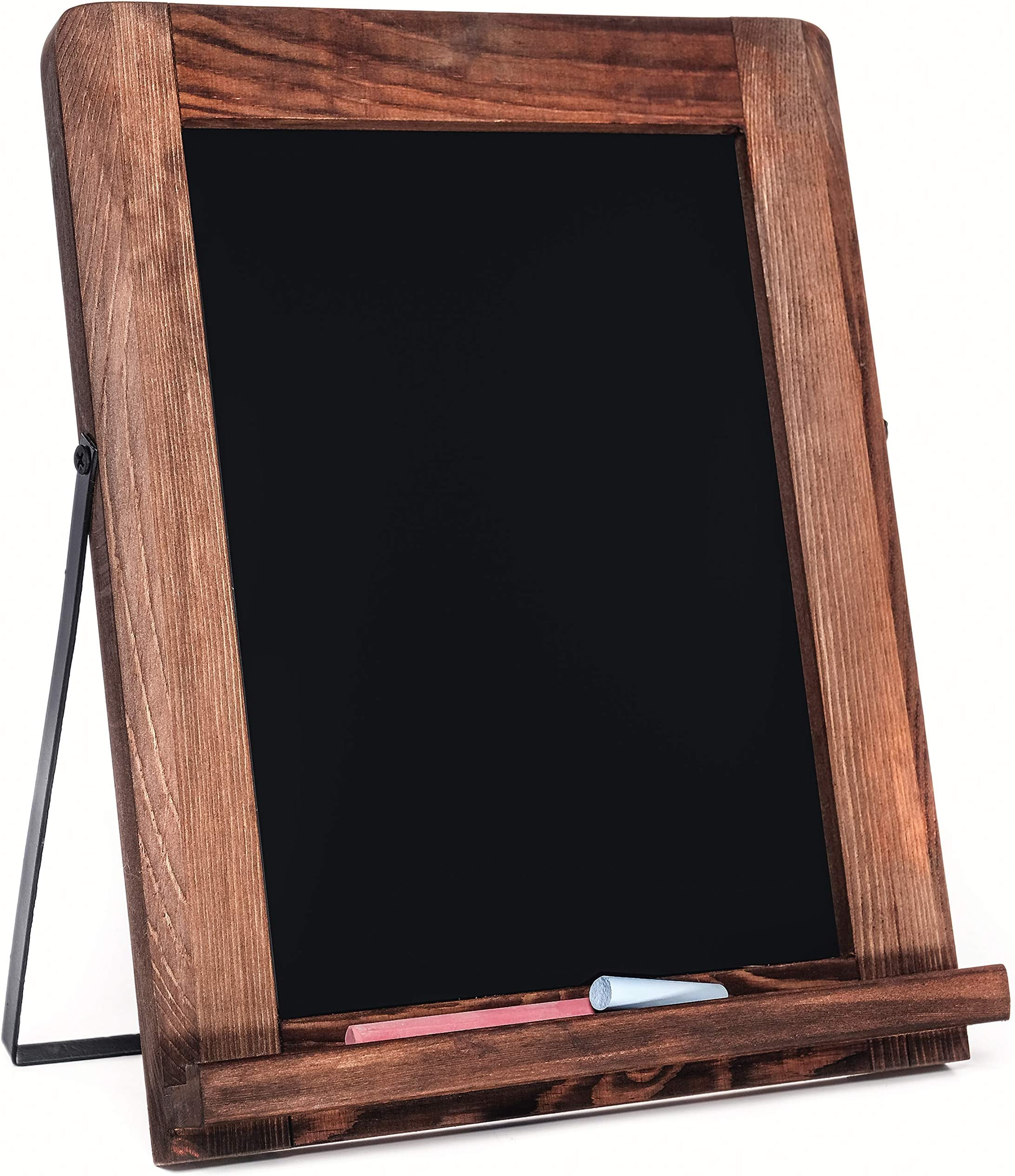 Amazon Com Chalkboard Magnetic Non Porous Framed Vintage Decor Standing Chalk Board For Wedding Kitchen Bar Restaurant Menu Tabletop And Home Sign 10 X 12 5 Inches Blackboard Office Products