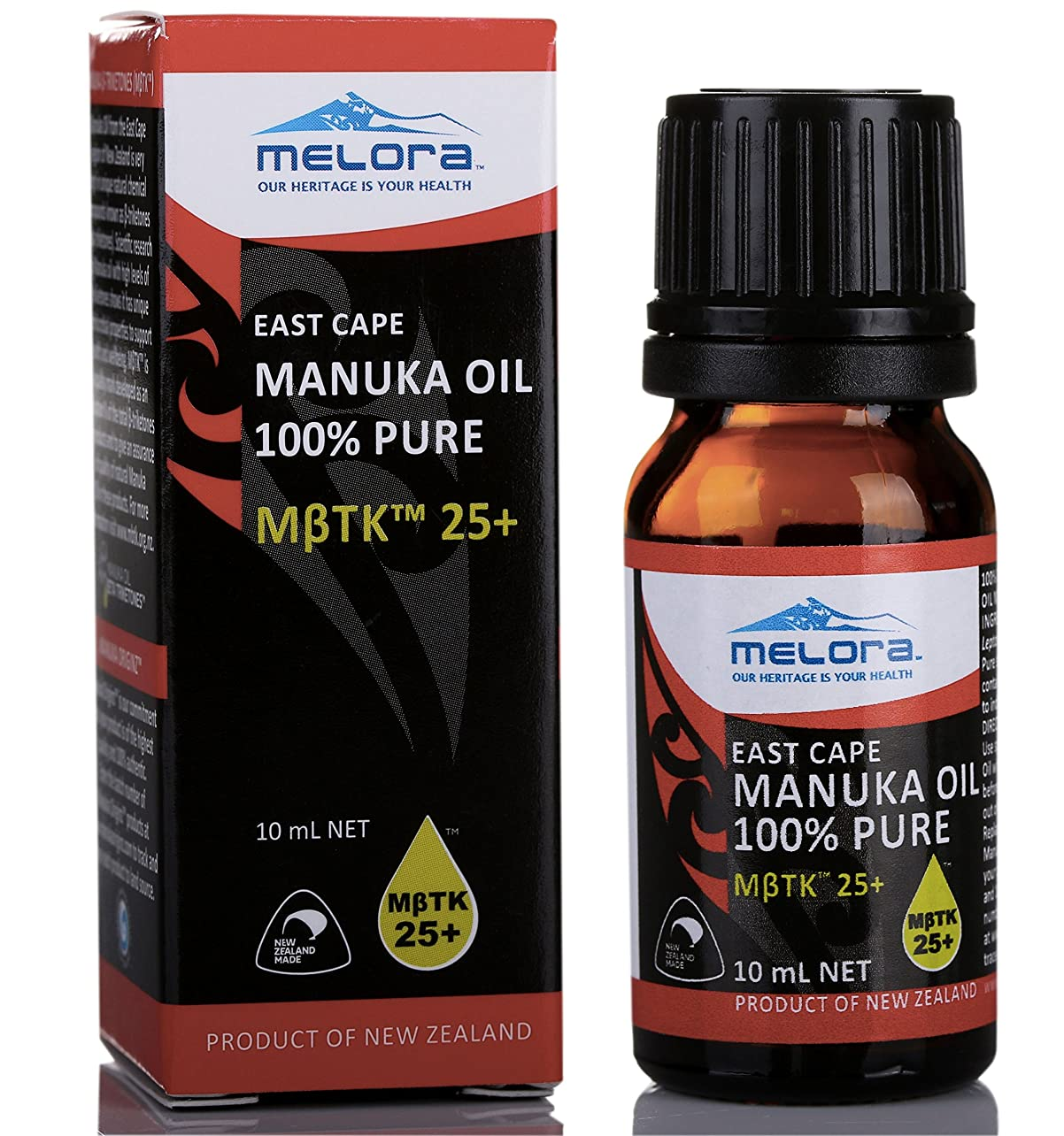 西組み込む番号EAST CAPE MANUKA OIL 100%PURE MBTK 25+ 100%マヌカオイル(精油) 10ml