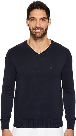 Nautica - 12GG V-Neck Sweater