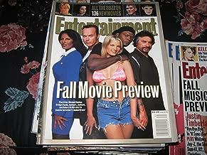 Entertainment Weekly Magazine (FALL MOVIE PREVIEW , 136 New Movies , Pam Grier , Michael Keaton , bridget Fonda , Samuel L. Jackson , Robert DeNiro , Quentin Tarantino's 'Jackie Brown')