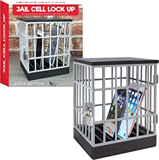 Global Gizmos The Mobile Phone Jail Cell Lock Up - Fun Novelty Gift Idea