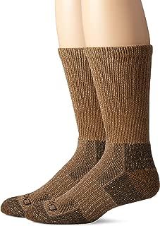 Dickies mens I12090 Steel Toe Moisture Control Crew Socks (2 & 4 Packs) Socks