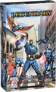 Legendary: A Deck Building Game: Captain America 75th Anniversary