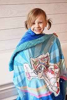 Plush Unicorn Throw Blanket for Girls Flip Sequin Unicorn The Softest Unicorn Blanket Ever! Glow in The Dark Blanket 57