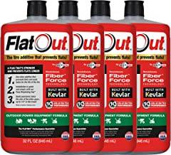 FlatOut 99907 Tire Additive (Outdoor Power Equipment Formula), for Lawn Mowers, Small..