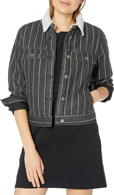 RVCA Women's Spitting Jacket Denim Image 新作送料無料 ファクトリーアウトレット