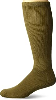 Thorlos Unisex MS Anti-Fatigue Thick Padded Over the Calf Sock,  Coyote Brown,  Medium