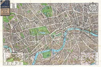 Best pictorial map of london Reviews