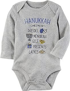 Baby Boys' Hanukkah Checklist Collectible Bodysuit