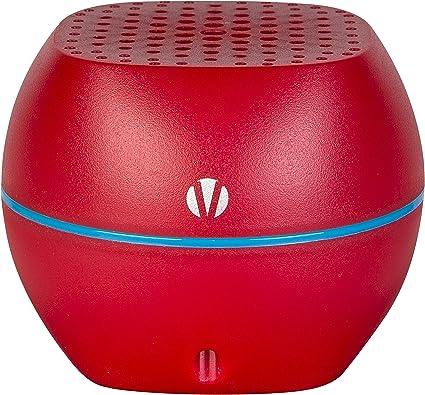 Vivitar Wireless Bluetooth Speaker with Speakerphone (Red)