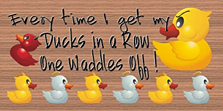 GiggleSticks Everytime I Get My Ducks in A Row One Wander Off