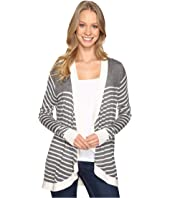 B Collection by Bobeau - Markena Stripe Waterfall Sweater