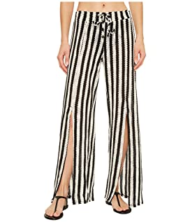 Ships Ahoy Split Leg Pant Cover-Up