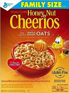 蜂蜜のナットの穀物チェリオス 21.6 オンス Honey Nut Cheerios Cereal 21.6 oz