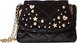 Betsey Johnson - Quilty As Charged Velvet Crossbody